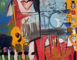 """""""Tampa Live"""" (c) 2008 Jeffrey Lipsky Arts"""